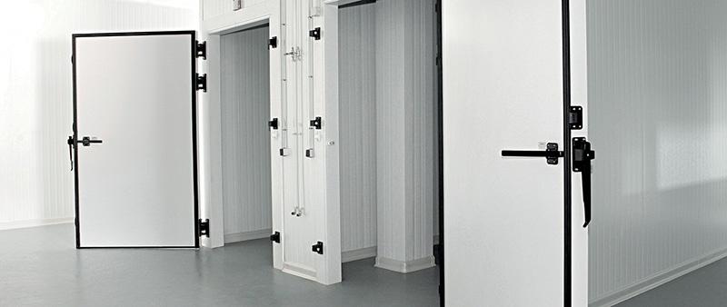 puerta de cuarto frío